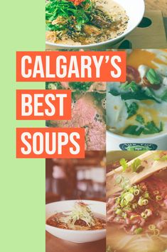 These Calgary restaurants serve piping hot bowls of comfort food Calgary Restaurants, Wine Recipes, Bowls, Things To Do, Soup, Beef, Dining, Travel, Serving Bowls