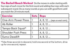 """The Biggest Loser"" trainer Jen Widerstrom gives you the best workout ever for sculpting an athletic bikini bod."