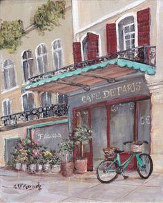 """A Street in Paris"" by Gail McCormack, Australia"