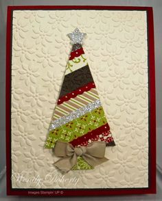 Beautiful Christmas Trees Card...Wdoherty - Cards and Paper Crafts at Splitcoaststampers.