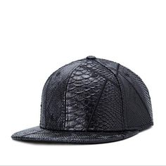 5643b72990f Aliexpress.com   Buy New 2015 Super Cool Snapback Caps PU Leather Embossed  Brand Baseball Cap Fashion Hip Hop Cap Trucker Hat for Men HK042 from  Reliable ...