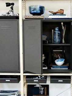 Room for Creation, del 2 – Livet Hemma Home Office, Dorm, Locker Storage, Entryway, Home And Garden, Cabinet, Living Room, Inspiration, Ikea Hacks
