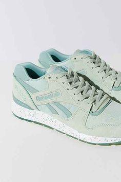 mint green Reebok GL 6000 Ice Running Sneaker