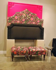 New colorful introductions at Skyline in showroom High Point Market, Spring 2015, Showroom, Skyline, Couch, Colorful, Furniture, Home Decor, Settee