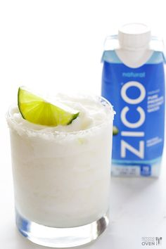 Coconut Margarita | gimmesomeoven.com #drink #cocktail