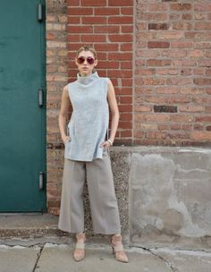 20 maneras de llevar cuello alto sin mangas