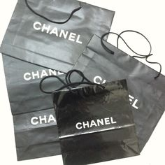 Chanel shopping bags! 4 bags! Make an offer! Chanel shopping bags! CHANEL Accessories