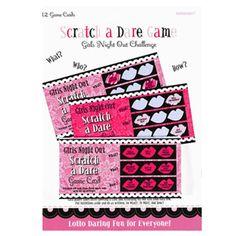 Scratch a Dare Cards!! Excellent idea!