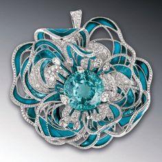 #CHANEL #diamond flower