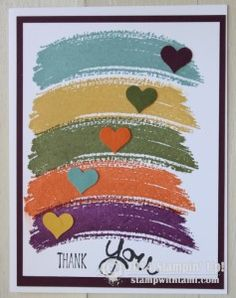 CARD: Work of Art – Part II | Stampin Up Demonstrator - Tami White - Stamp With Tami Crafting and Card-Making Stampin Up blog
