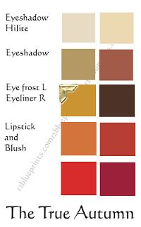 Warm Autumn Makeup   Warm Autumn Color Palette - thinking about having different bridesmaid color dresses and corresponding ties for the groomsmen