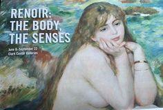 Now open at The Clark until September Renoir: The Body The Senses Anniversary Getaways, Clark Art, September 22, Renoir, Goodies, Boutique, Gallery, Artwork, House