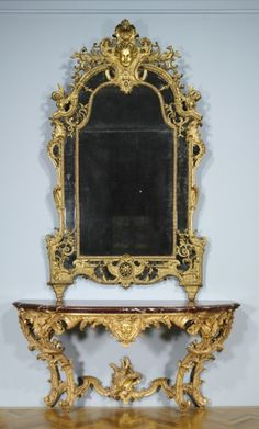 Pier Mirror (Trumeau), c.1715, France