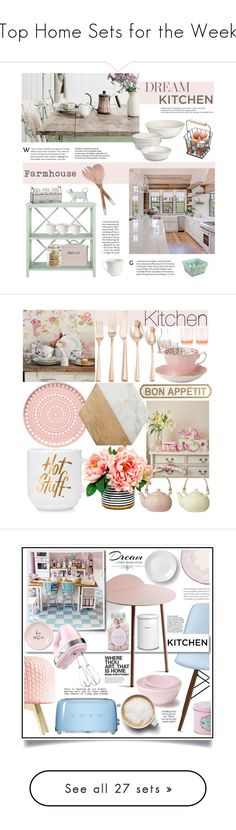 """""""Top Home Sets for the Week"""" by polyvore ❤ liked on Polyvore featuring interior, interiors, interior design, home, home decor, interior decorating, Safavieh, Biltmore, Garden Trading and Crate and Barrel"""