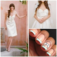 Today I have teamed up with Loverly to design a cute wedding nail art look! Wedding Nails, Makeup Inspiration, Nail Ideas, Polish, Nail Art, Charmed, Vitreous Enamel, Nail Arts, Wedding Nail