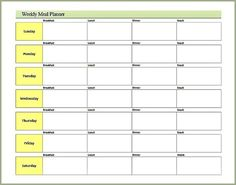 Free Weekly Meal Planner Printable from http://joyfulhomemaking.com/2014/01/weekly-meal-planner-printable.html #meal planner, #free printable