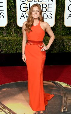 Amy Adams from 2016 Golden Globes Red Carpet Arrivals | E! Online