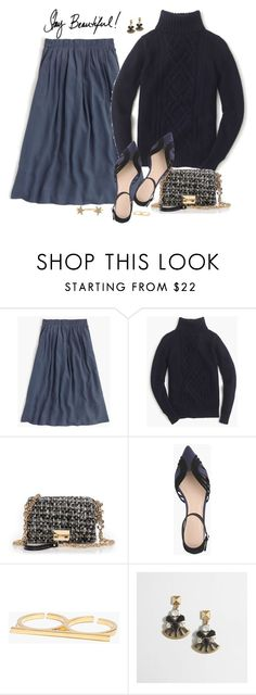 """""""Navy"""" by villasba on Polyvore featuring J.Crew, Madewell and SOLD Design Lab"""
