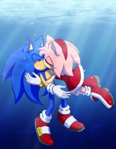 Amy Rose, Sonic The Hedgehog, Shadow The Hedgehog, Sonic Y Amy, Sonic Art, Sonic Anime, Sonamy Comic, Top Imagem, Sonic Franchise
