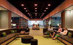 woods bagot australian catholic university raheen library designboom