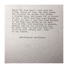 The universe and her, and I poem #76 written by Christopher Poindexter