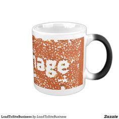 Your Custom 11 oz Morphing Mug http://www.zazzle.com/loadtositebusiness_mug-168246267721291508