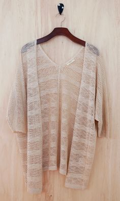 On the Sand Lace Cardigan - Conversation Pieces
