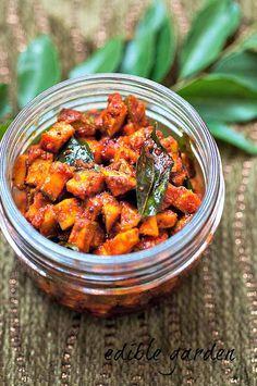 Instant Mango Pickle - Spicy Kerala Mango Pickle Recipe