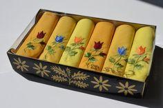 Pañuelo Vintage floral por Limbhad en Etsy, €15.00