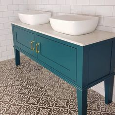Made to Order Bathroom Vanity Unit Washstand with Quartz top. | Etsy.  739gbp - totally customisable