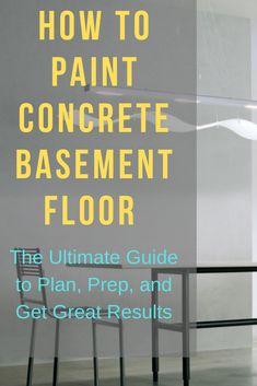 The ultimate guide to plan, prep, and finish basement floor painting project. It& easier to paint basement concrete floor. Here are some basement floor. The post How to Paint Concrete Basement Floor (the right way) appeared first on Mack Makeovers. Epoxy Floor Diy, Epoxy Concrete Floor, Concrete Basement Floors, Painting Basement Floors, Diy Concrete, How To Paint Floors, Basement Concrete Floor Paint, Diy Epoxy, Finished Concrete Floors