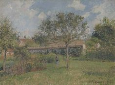 Camille Pissarro (French, 1830-1903), A Corner of the Meadow at Eragny [Un coin du pré à Eragny], 1902, oil on canvas, 600 x 813 mm.