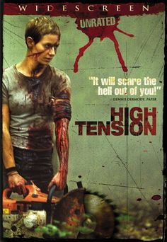 Absolutely one of the most thrilling scenes I have ever seen in horror. So worth the rental if you are a true horror movie buff. Worth the subtitles if your not into foreign movies. Best Horror Movies, Scary Movies, Great Movies, Horror Dvd, Halloween Movies, Haute Tension, High Tension, Love Movie, Movie Tv