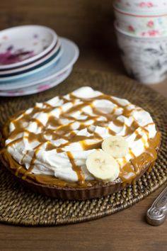 Banoffe Pie (Platano + nata + dulce de leche = AMOR!)