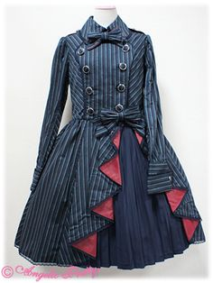 Not steampunk but the side details would be pretty on a bustle