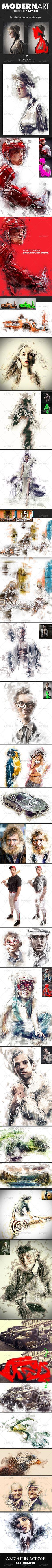 ModernArt Photoshop Action (premium) http://graphicriver.net/item/modernart-photoshop-action/8163995?ref=Artlandis