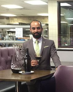 Our Sommelier of the month for November 2016 is Claude Le Goff, Sommelier at The Pass, South Lodge Hotel. Click this photograph to view a selection of questions which Claude has very kindly answered for us.