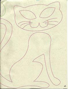http://artesanato-dona-arte.blogspot.com.br/2012/11/almofada-gatinha-em-patchwork-com-risco.html