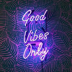 All neon signage is hand-crafted in the USA. True Neon - not LED. Up to 7 years of bulb life - double the life of imported signs. Tattoo Wallpaper, Neon Wallpaper, Good Vibes Wallpaper, Rainbow Wallpaper, Led Neon, Neon Signs Quotes, Neon Words, Neon Light Signs, Cool Neon Signs