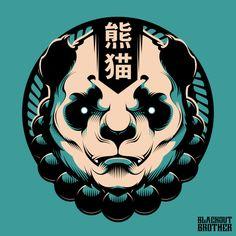Japanese Pop Art, Japanese Artwork, Japanese Tattoo Art, Aesthetic Japan, Aesthetic Art, Samurai Artwork, Bear Art, Amazing Art, Vector Art