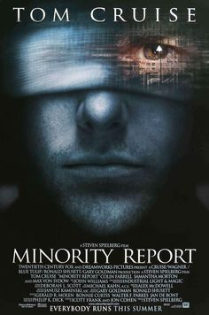 Minority Report by Steven Spielberg, with Tom Cruise, Max von Sydow, Colin Farrell Tom Cruise, Sci Fi Movies, Top Movies, Movies To Watch, 2017 Movies, Cinema Tv, I Love Cinema, Film Science Fiction, Max Von Sydow