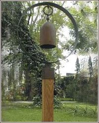 Garden Bells from stone-crafts.com