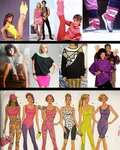 80's Fashion Outfit Ideas.