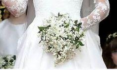 Kate's timeless bouquet, subtle as a English Spring Garden............