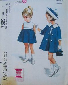 7629-1 ~ Nautical Spring ensemble by Helen Lee