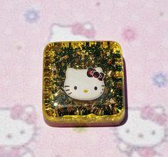 Cute Kitty Handmade Charm 2 by DecoDenPrincessShop on Etsy, $9.99