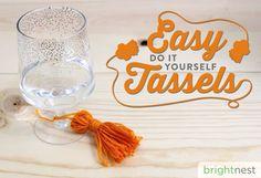 BrightNest   Easy Do-It-Yourself Tassels