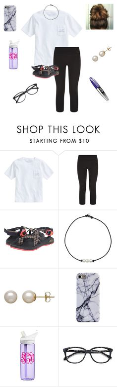 """OOTD- Testing🙄🤞🏻"" by jweber-14 ❤ liked on Polyvore featuring Vineyard Vines, NIKE, Chaco, Honora, CamelBak and Ace"
