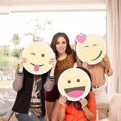 TRIVIA: ¿Quiénes se esconden detrás de los emojis?  #EmojiFan