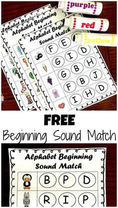 FREE Phonics Beginnign Sound Do-a-Dot Worksheets - these are such a fun way for kids to practice identifying the beginning sounds in words while having fun! Great alphabet activity for preschool, prek, and kindergarten age children for summer learning, ba Preschool Literacy, Preschool Letters, Phonics Activities, Alphabet Activities, Kindergarten Worksheets, In Kindergarten, Alphabet Phonics, Beginning Sounds Kindergarten, Preschool Printables Free Worksheets
